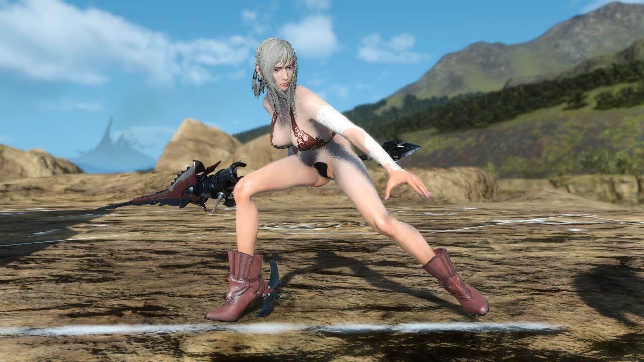 Luna 15 nackt fantasy final Final Fantasy