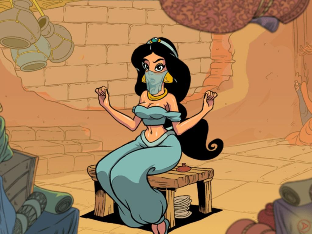 Free Aladdin Princess Jasmine Porn