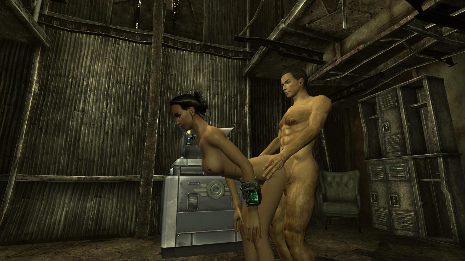 мод секс на фоллаут 3