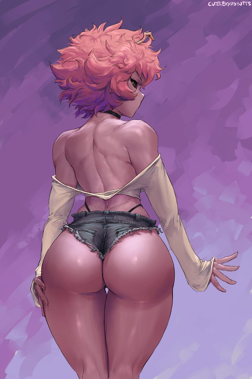 Ebony Big Butt Threesome