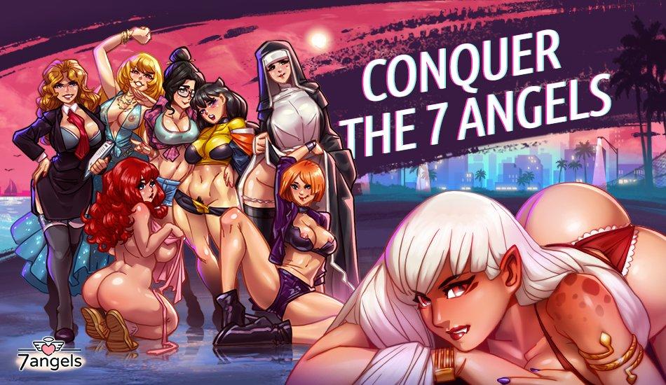Hentai Tinder Sim Review: 7 Angels