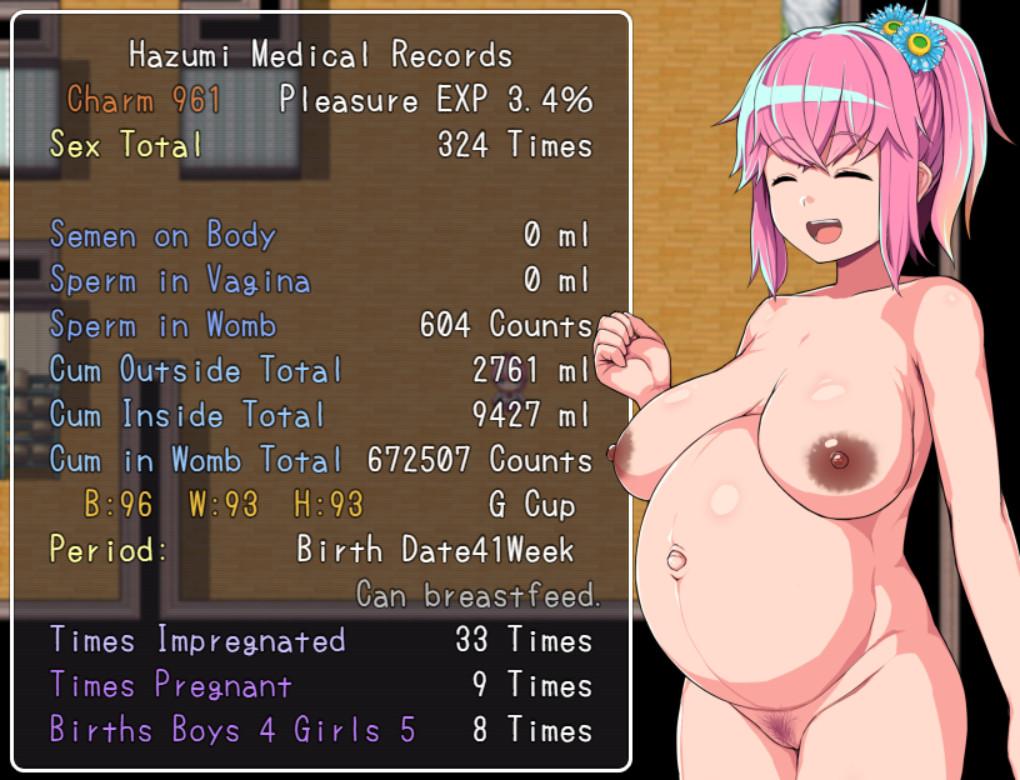 Anime Pregnant Xray Porn impregnation hentai game review: hazumi and pregsstate