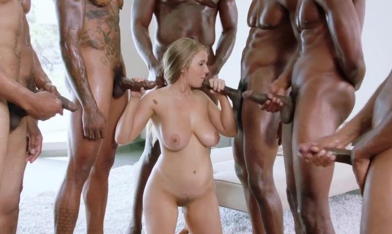 Hardcore sex gangbang sex video