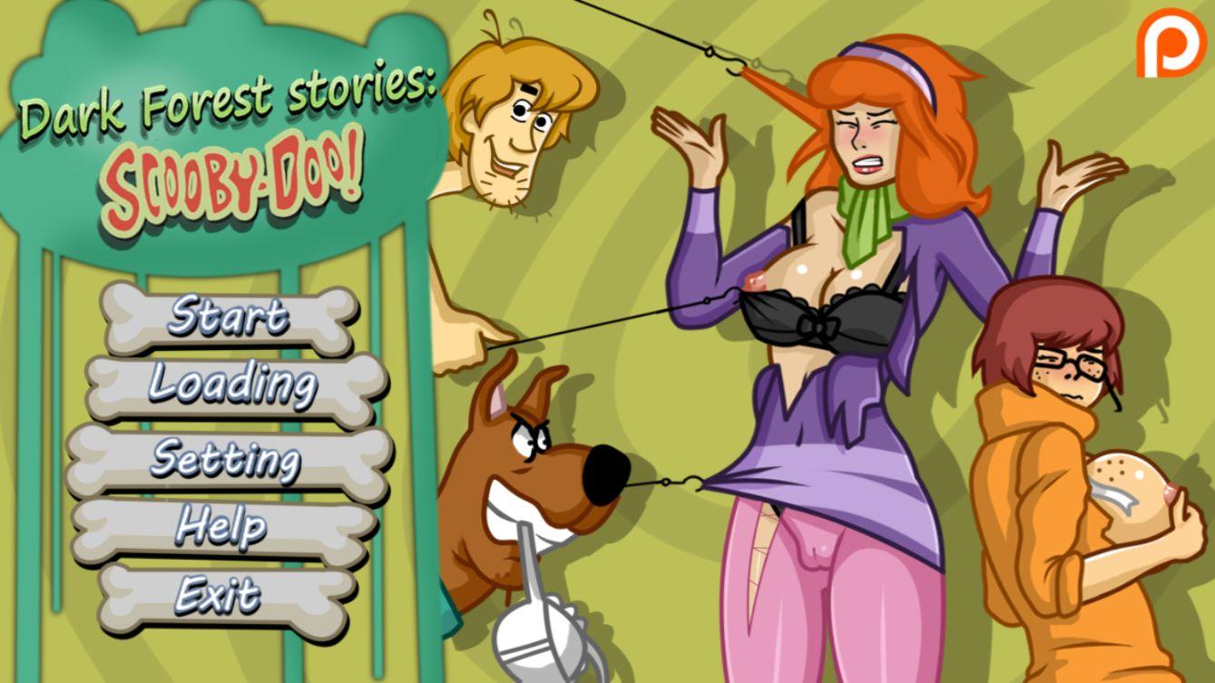 Anime Porn Parody dark forest stories scooby doo cartoon parody porn game