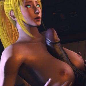 3D Monster Sex Cartoon: Samus' Training Days 1