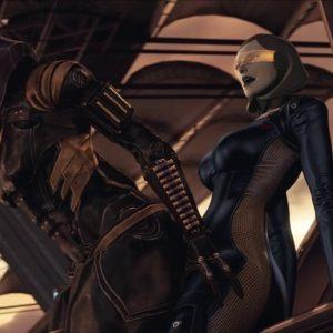 Mass Effect 3D Porn Video Review: Curious AI First Times
